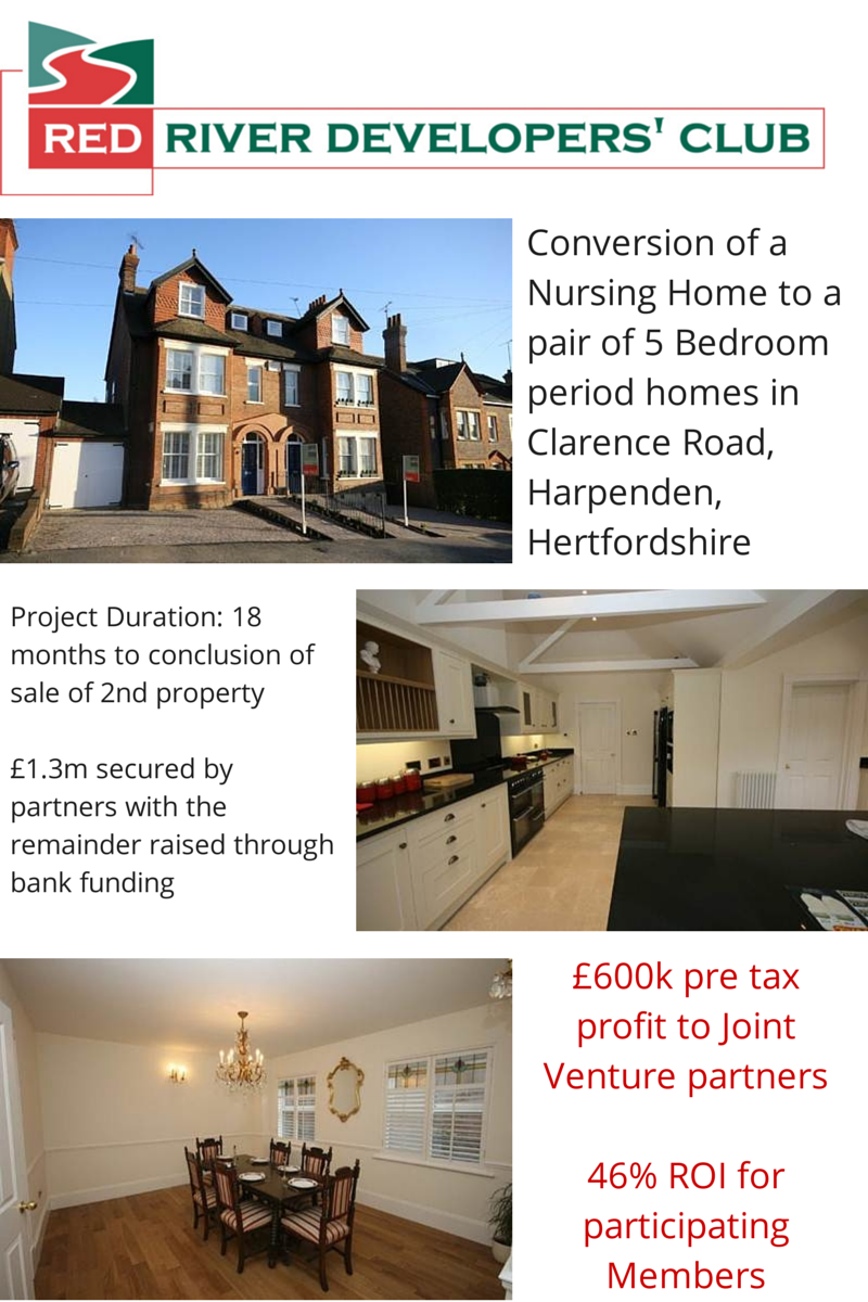 Developers' Club, Property Development, Investment Opportunity, Red River, harpenden